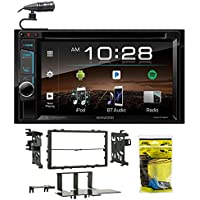 7 In-Dash Kenwood DVD Monitor/Player Receiver w/Bluetooth+For 99-00 Honda Civic