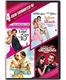4 Film Favorites: Matthew McConaughey: How to Lose a Guy in 10 Days/ Failure to Launch/ Fools Gold/ Ghost of Girlfriend's Past (DVD)