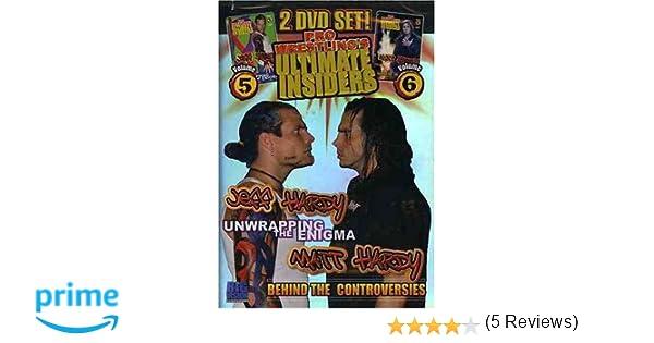 Amazon.com: Pro Wrestling's Ultimate Insider, Vol. 5 And 6: Jeff ...