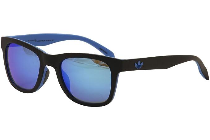 adidas - Gafas de sol - para hombre Blue Mirror 52: Amazon.es: Ropa y accesorios