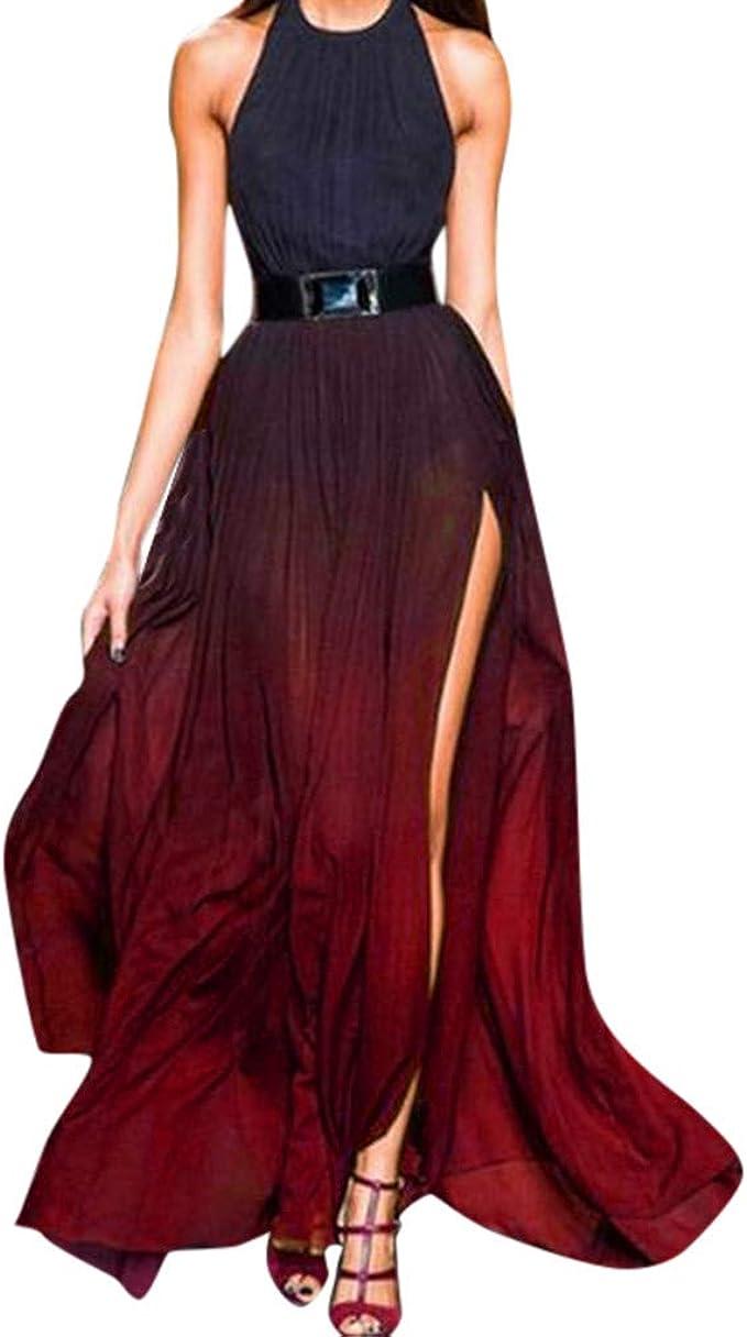 sunnymi Frauen Kleider Sommer Sexy Sling Fashion Kleid