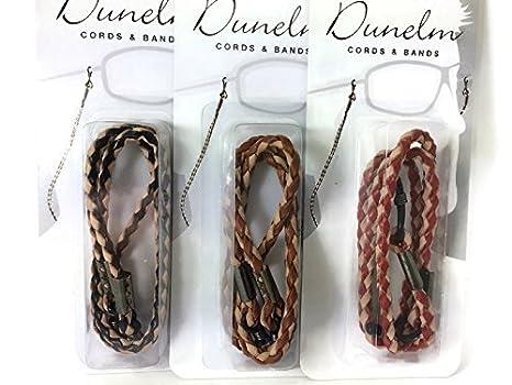 644b685e8b Dunelm - Cordon à lunettes - Homme noir Black and Tan: Amazon.fr ...