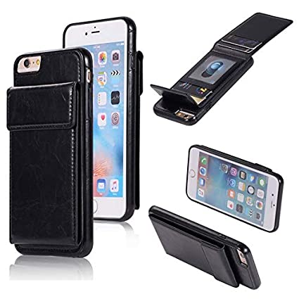 4af75650a2 Image Unavailable. Image not available for. Color: GeorgeBr- for iPhone 6  Plus Leather Wallet Case ...