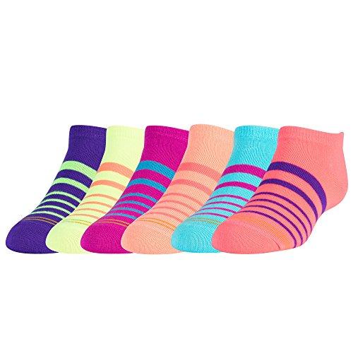 6-Pack Liner Socks Stripes Medium (Gold Toe Liner Socks)