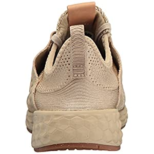 New Balance Women's Fresh Foam Cruz v1 Running Shoe, linseed, 7.5 B US