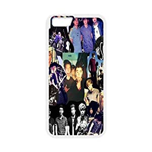 [bestdisigncase] For Apple Iphone 6 Plus 5.5 inch screen- 5SOS Muisc Band PHONE CASE 6