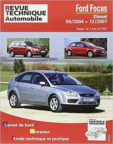 Book Rta 698.1 Ford Focus Diesel Dep 09/04 1.6/1.8 Tdci