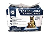 American Kennel Club 50 Count X-Large Training Pads, 30-Inch by 28-Inch