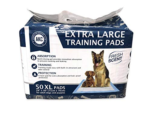 AKC Training Pads Fresh scent XL 30'' x 28'' - Pack of 50