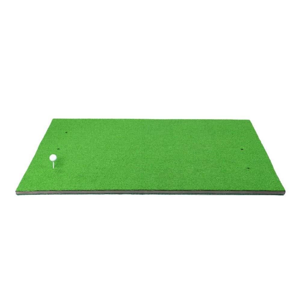 DS-ゴルフマット ゴルフマット両面練習マット屋内スイングマット両面2色マット1 * 1.5m ゴルフ練習マット