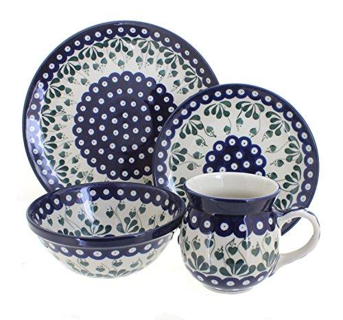 Polish Pottery Alyce 16 Piece Dinner Set by Ceramika Artystyczna