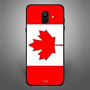 Samsung Galaxy A6 Canada Flag, Zoot Designer Phone Covers