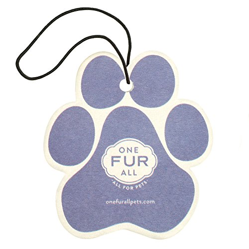 Pet House Car Air Freshener by One Fur All, Pack of 4 – Lilac Garden - Non-Toxic Auto Air Freshener, Pet Odor Eliminating Air Freshener for Car, Ideal for Small Spaces, Dye Free Dog Car Air Freshener - Gingerbread House Ingredients