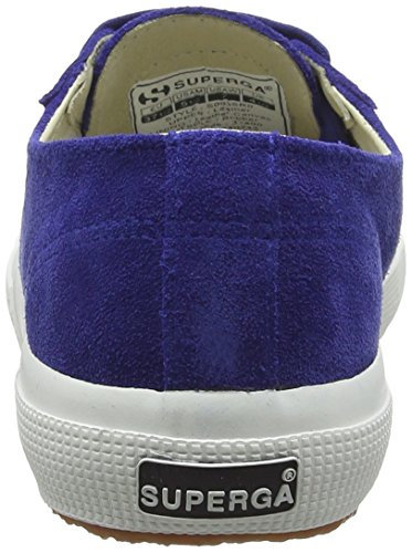Superga 2750 Sueu - Zapatillas Unisex Adulto Azul (808 Blue Nautic)