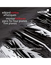 Ameriques Piece For 4 Pianos