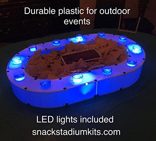 Shot Bowl Snack Stadium Kit (Lights Included) 31 X 19 x 4