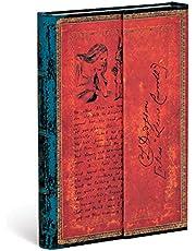 Paperblanks | Inbunden dagbok | Lewis Carroll, Alice i Underlandet | Ofodrad | Mini (100 × 140 mm)