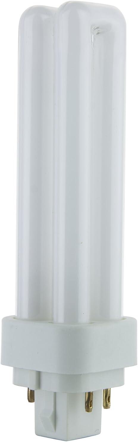 Sunlite PLD13/E/SP27K 13-Watt Compact Fluorescent Plug-In 4-Pin Light Bulb, 2700K Color