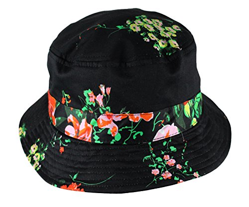Profound Aesthetic Company Floral Cotton Bucket Hat - One Size (O S ... 9ec6fd91aaa6