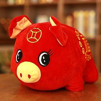 Kinder Geschenke Weihnachten 2019.Liyan 2019 Schwein Jahr Gefüllt Plüsch Spielzeug Kreative Kissen
