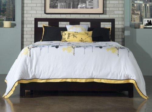 Price comparison product image Modus Furniture RV23D4 Riva Platform Storage Bed,  Full,  Espresso