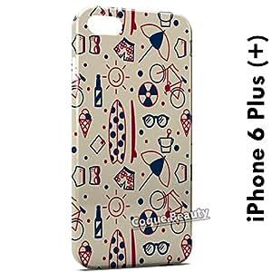 Carcasa Funda iPhone 6 Plus (iPhone 6+) Summer Season Protectora Case Cover
