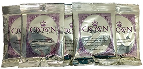 Crown Instant Gourmet Mulling Spices 6oz (5 Pack) by Crown Mulling Spices (Image #4)