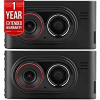 Garmin Dash Cam 35 HD Driving Recorder with GPS + 1 Year Extended Warranty 2-PACK Bundle