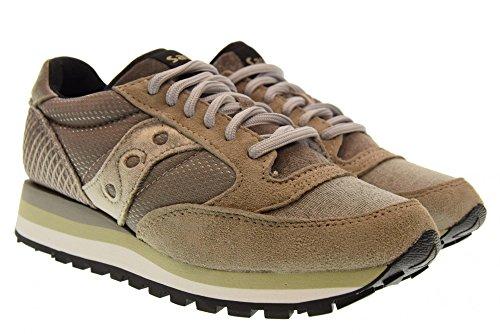 6 Femme Jazz Sneakers Original Chaussures S60403 Gris Saucony Bas aCgBW4q