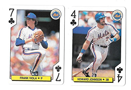 1991 Playing Card All-Stars NEW YORK METS 2 (New York Mets Playing Card)