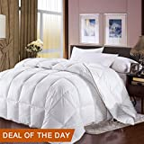 California King Duvet Insert King Size Comforters Cover Goose Down Comforter 100% Egyptian Cotton Cover Duvet White Down Comforter King Size Hotal Lightweight Hypoallergenic Duvet Insert All Season