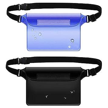 Amazon.com: Auony Bolsa impermeable, bolsa transparente de ...