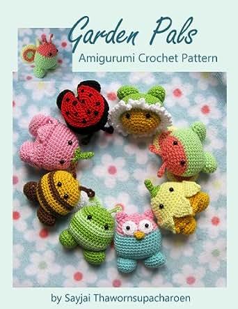 Amazon.com: Garden Pals Amigurumi Crochet Pattern (Easy ...