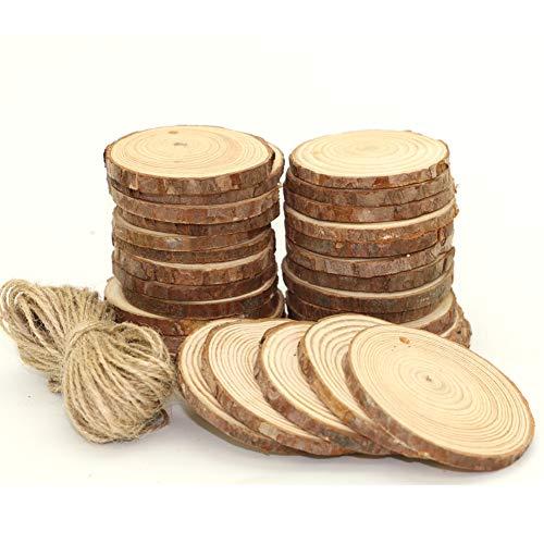 Log Sliced - UoUo 30 Pcs 2.4