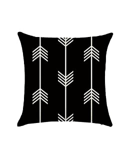 Luxsea 45cm45cm Simple Style Comfortable Cotton Linen Cloth Cover Throw Cushion Pillow Case