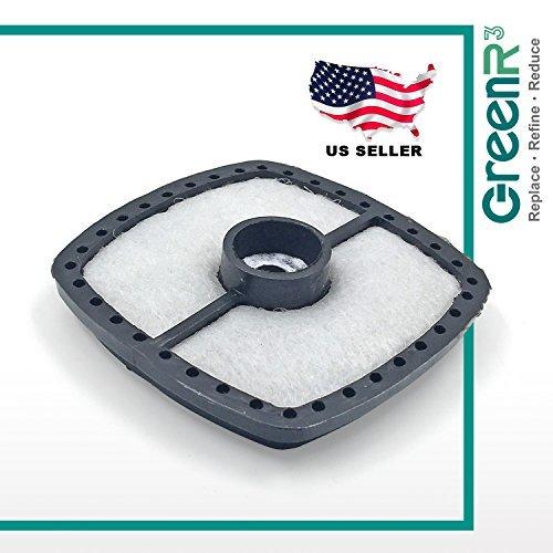 greenr3 pre-motor filtros de aire cortadoras de césped ...