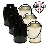 Auto Defender Fuel Filter Water Separator set for Dodge Ram 6.7L Cummins Turbo Engines (3 Sets)