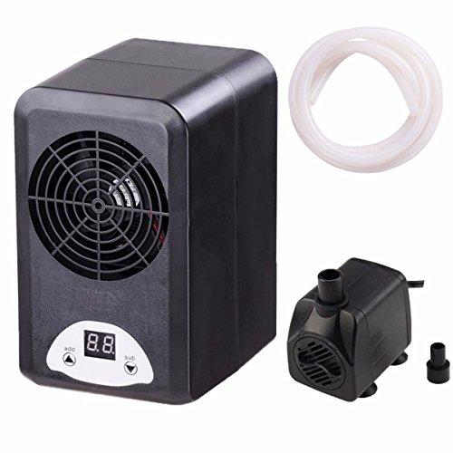 72W Aquarium Thermostat Chiller Heater Digital Display Adjustable 6 ''x 4-1/2'' x 7-4/5'' by Aquarium Chiller
