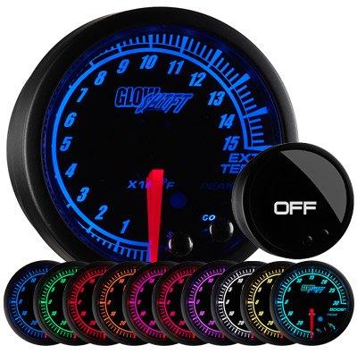 GlowShift Elite 10 Color 1500 F Pyrometer EGT Gauge