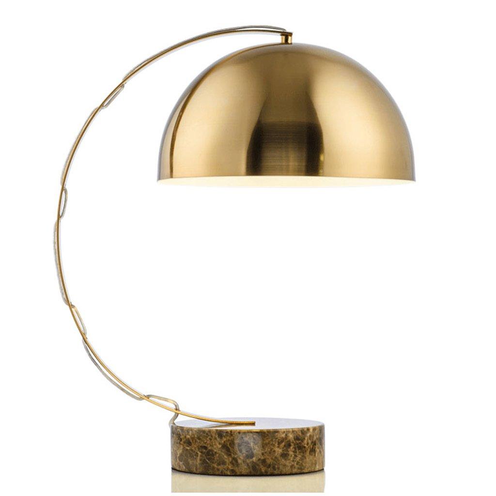 Hanlon E27-Schraubsockel, Tischlampe Amerikanische Hardware Marmor Boden Lampe Schreibtisch Lampe Wohnzimmer Lampe Moderne Studie Zimmer Kreative Modell Zimmer Schlafzimmer Lampe