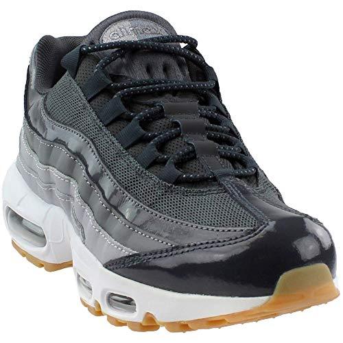 Nike Women's Air Max 95 Anthracite/White Wolf Grey Casual Shoe 8 Women US (Nike Air Max 95 Women)