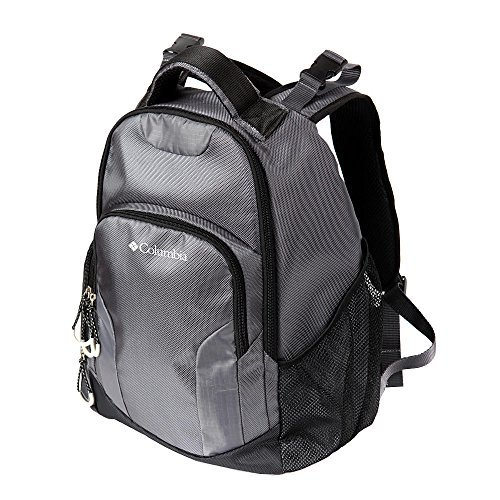 Columbia Summit Rush Backpack Diaper Bag - Grey