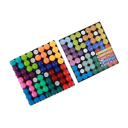 Kesoto プラスチック パズルゲーム パズル玩具 子供 ボードゲーム