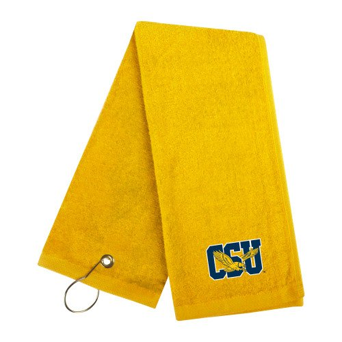 Coppin Gold Golf Towel 'Official Logo' by CollegeFanGear