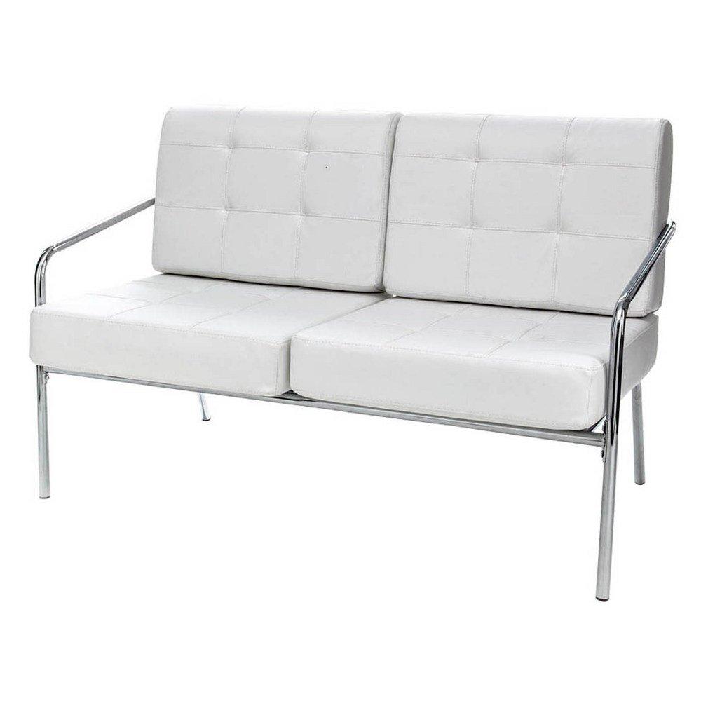 Tomasucci Jazz divano a 2 posti in pelle bianca: Amazon.it: Casa e ...