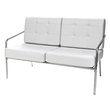 Tomasucci Jazz Sofa 2 Sitzer Leder Weiß Amazonde Küche Haushalt