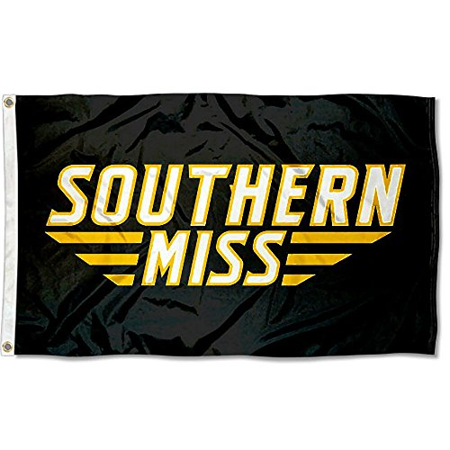 Southern Miss Eagles Wordmark College Flag