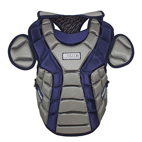 Adams ACP-15 Junior Chest Protector with Detachable Tail (15-Inch, Navy)