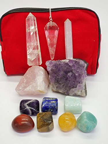 Quartz Crystal Stone Set - 6