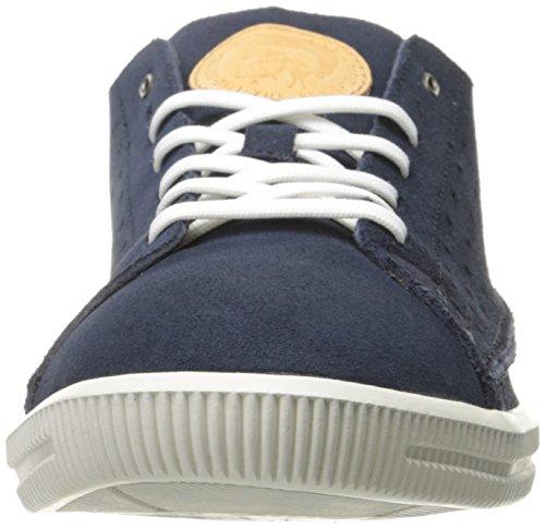Diesel Dyneckt S-naptik Mode Sneaker Médiéval Bleu